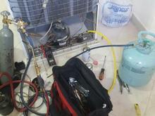 شارژ گاز یخچال تعمیرات یخچال در شیپور
