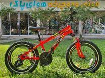 دوچرخه رویال کوهستان سایز 20 دنده ای و کمکدار در شیپور