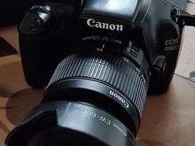 دوربین عکاسی کاننeos1100d و لنزحرفه ایی جدا در شیپور