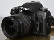 دوربین عکاسی فیلمی انالوگ نیکون N80 لنز در شیپور
