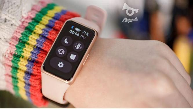 ساعت هوشمند هانر بند 6 (Honor Band 6 NFC ) در گروه خرید و فروش موبایل، تبلت و لوازم در خراسان رضوی در شیپور-عکس5