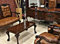 *نیمست طرح جدید اداری چرم میز جلومبلی صندلی* در شیپور-عکس کوچک