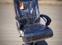 *صندلی مدیریت برموداچرم اداری-دومکانیزم چرخدار* در شیپور-عکس کوچک