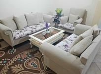 مبلمان راحتی6نفره+میز وسط کاملا نو3ماهه خریداری شده در شیپور-عکس کوچک