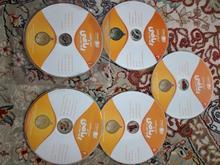 پنج عدد CD آموزش ریاضی هفتم رهپویان در شیپور