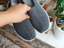 کفش راحت مناسب پیاده روی تخت ترکیه و رویه گیوه دست بافت37 38 در شیپور