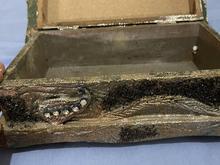 جعبه جواهرات پتینه کار دست در شیپور