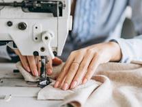 به تعدادی چرخ کار خانم جهت کار در تولیدی لباس زنانه برای دوخ در شیپور