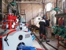 موتورخانه لوله کش گاز و آتش نشانی در شیپور