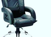 *صندلی مدیریت کارمندی منشی چرخدار لاندا چرم اداری* در شیپور-عکس کوچک