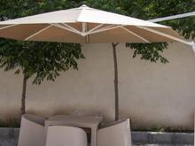 چتر پایه کنار متحرک ضدآب چراغ دار و ساده در شیپور