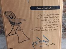 صندلی غذا خوری کودک دلیجان رنگ لیلیوم آکبند نو نو در شیپور