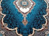 فرش دربار کاشان طرح 700 شانه 6متری سرمه ایی در شیپور-عکس کوچک