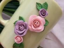 انواع گل چینی. سبد های تریکو زیبا.روبان دوزی . گلدوزی در شیپور