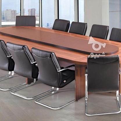 میز کنفرانس برای جلسات گروهی-صندلی اداری* در گروه خرید و فروش صنعتی، اداری و تجاری در تهران در شیپور-عکس1