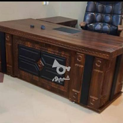 *میز مدیریتی اداری-ست کامل صندلی دسته خلبانی* در گروه خرید و فروش صنعتی، اداری و تجاری در تهران در شیپور-عکس1