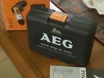 دریل شارژی aeg آلمانی 4/8 ولت (یکبار استفاده شده) در شیپور