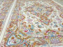 فرش دستبافت طرح گلدانی خطیبی در شیپور