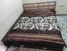 تخت خواب دو نفره تمام ام دی اف با تشک در شیپور