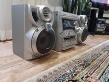 سیستم ضبط سامسونگ 3دیسک aux به همراه 2باند در شیپور